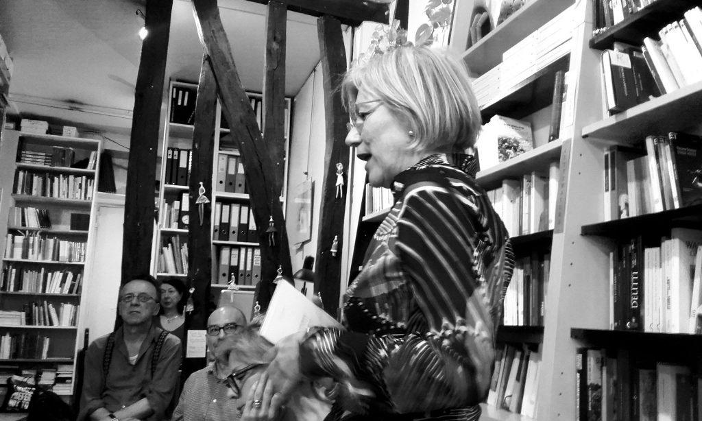 """La poète Italo-allemande Eva Taylor le 1er juillet à la librairie """" La tour de babel"""""""